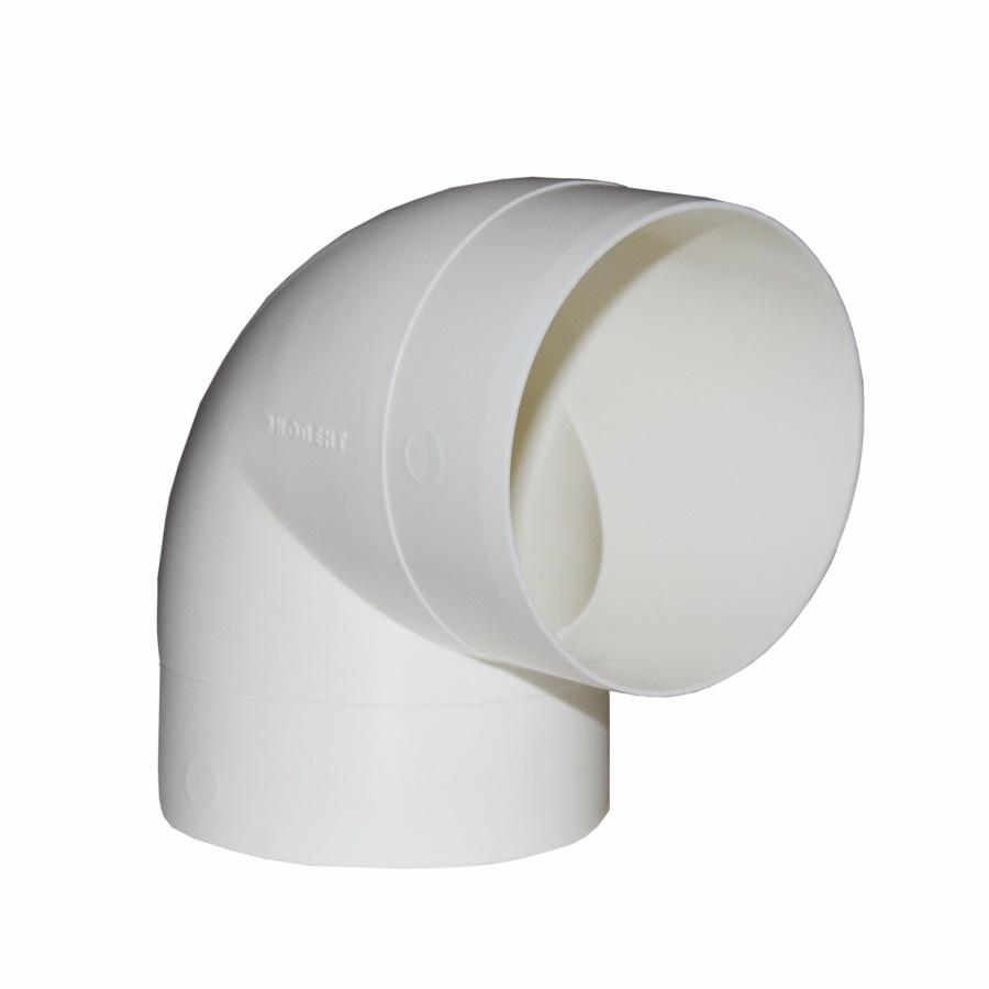 10ККП Эра. Колено круглое пластик 90°, D100