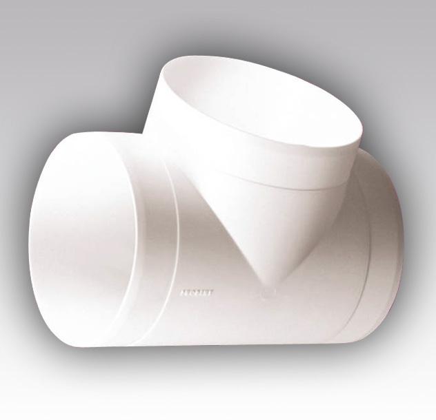 12,5ТП Эра. Тройник Т-образный пластик D125