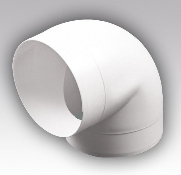 16ККП Эра, Колено круглое пластик 90°, D160