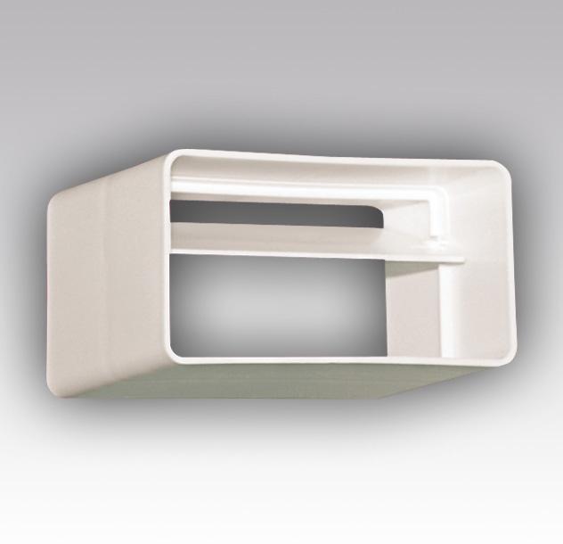 612СКПО Эра, Соединитель с обратным клапаном пластик, 60х120