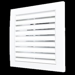 1515R10F Эра, Решетка вентиляционная приточно-вытяжная 150х150 с фланцем D100