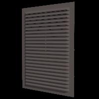1122С кор Эра. Решетка накладная (коричневый)
